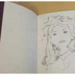 One of the sketches included in the book.