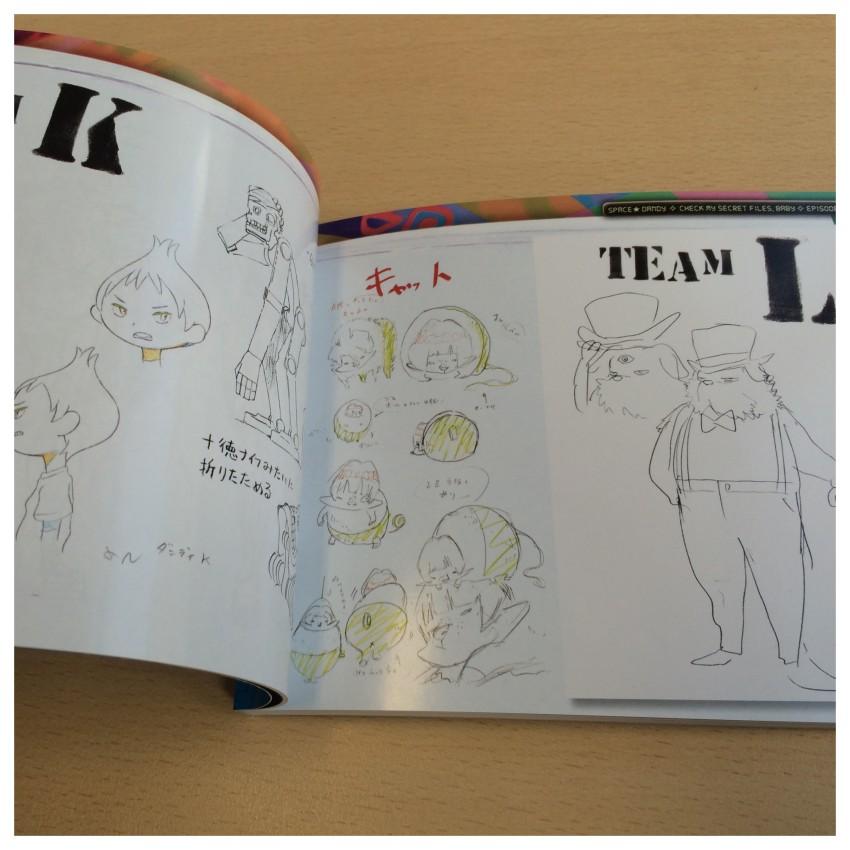 A sneak peek inside the book