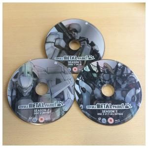 The Season 1 discs