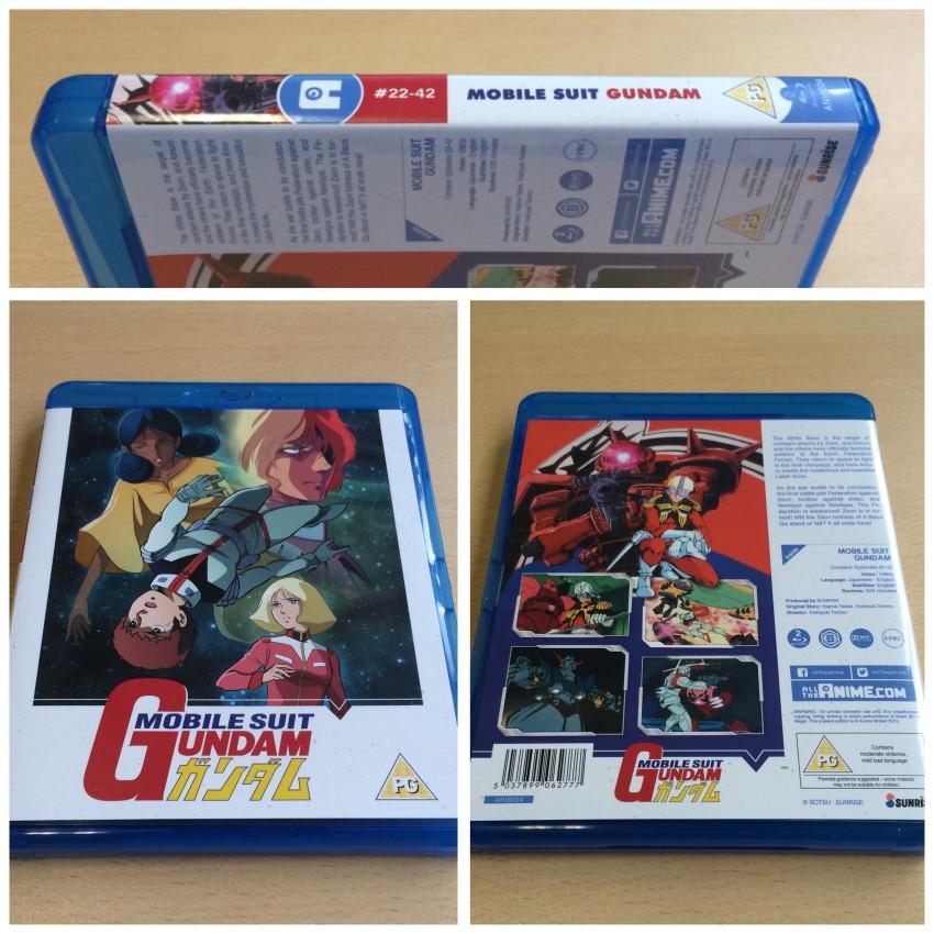 The amaray case for Mobile Suit Gundam Part 2.