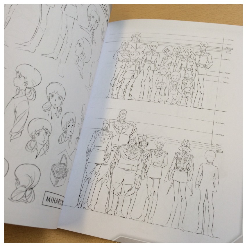 A look at part of the Characters section