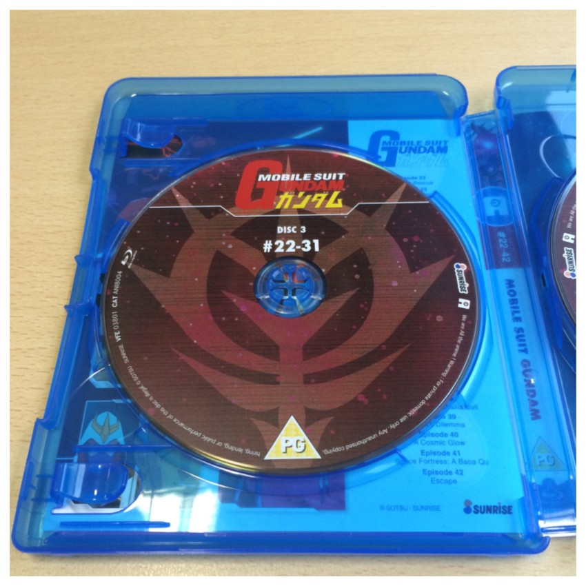 To keep in theme with the fact this part 2, the first disc of this set is Disc 3