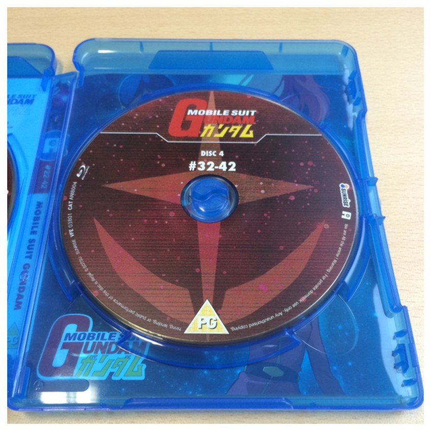 To keep in theme with the fact this part 2, the first disc of this set is Disc 4