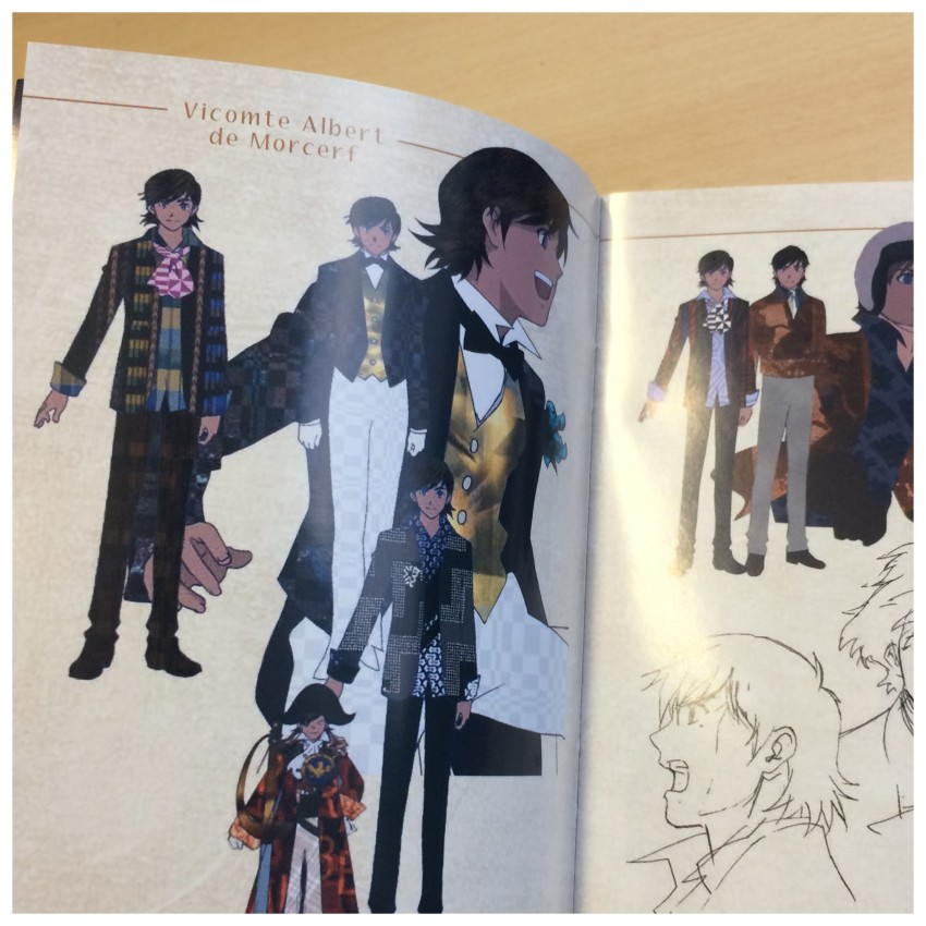 Another glimpse inside the booklet