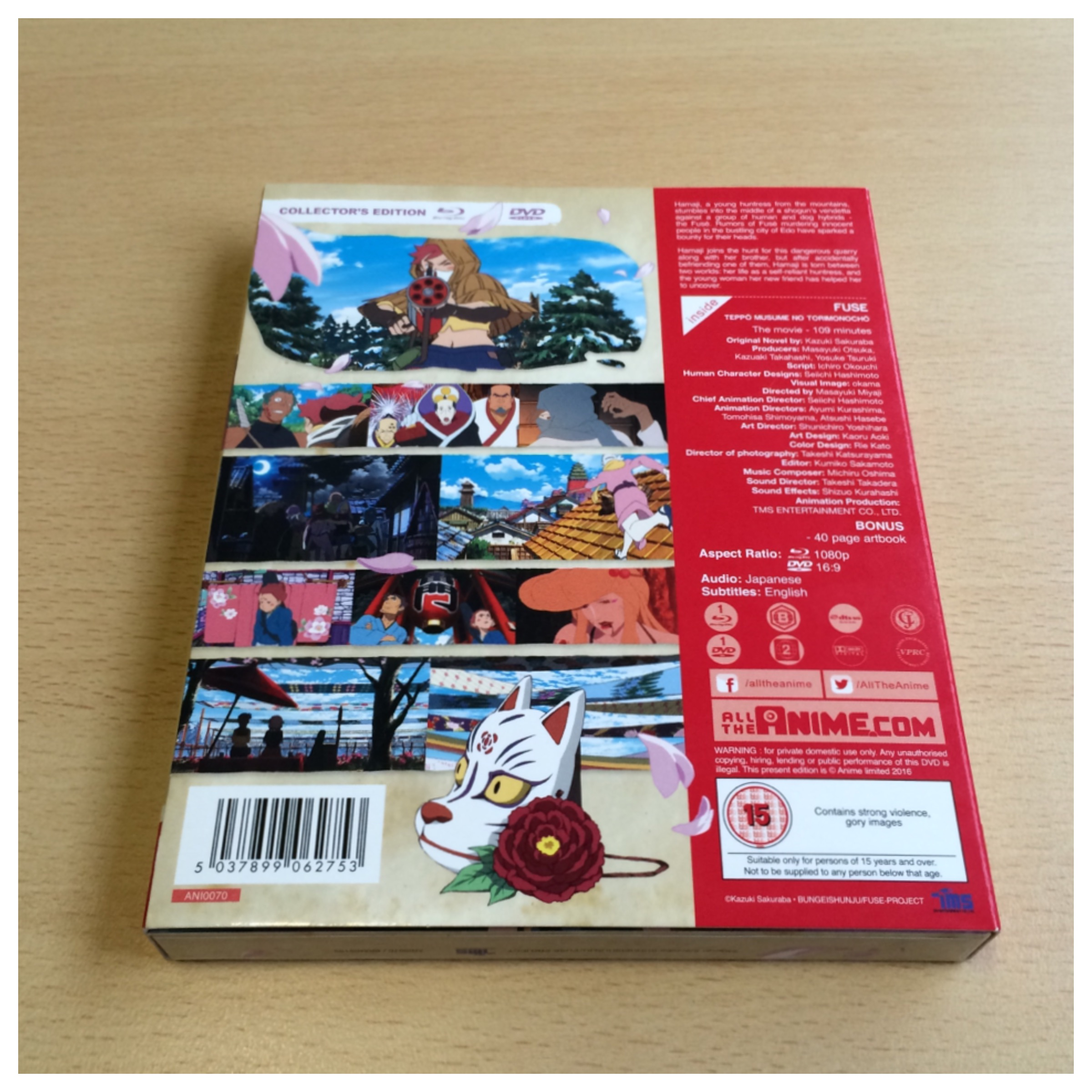 Unboxing Fus Memoirs Of The Hunter Girl All Anime Plastic Fuse Box Now Back With O Card Present But Wrap Removed