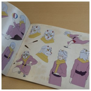 Another glimpse the character section of artbook