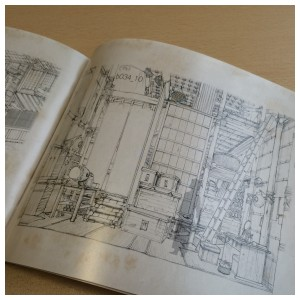Section 3 of the artbook contains sketches used during the production process of the film. Here's a glimpse at that.