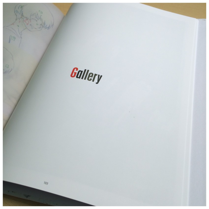 And the final section of the book, the Gallery