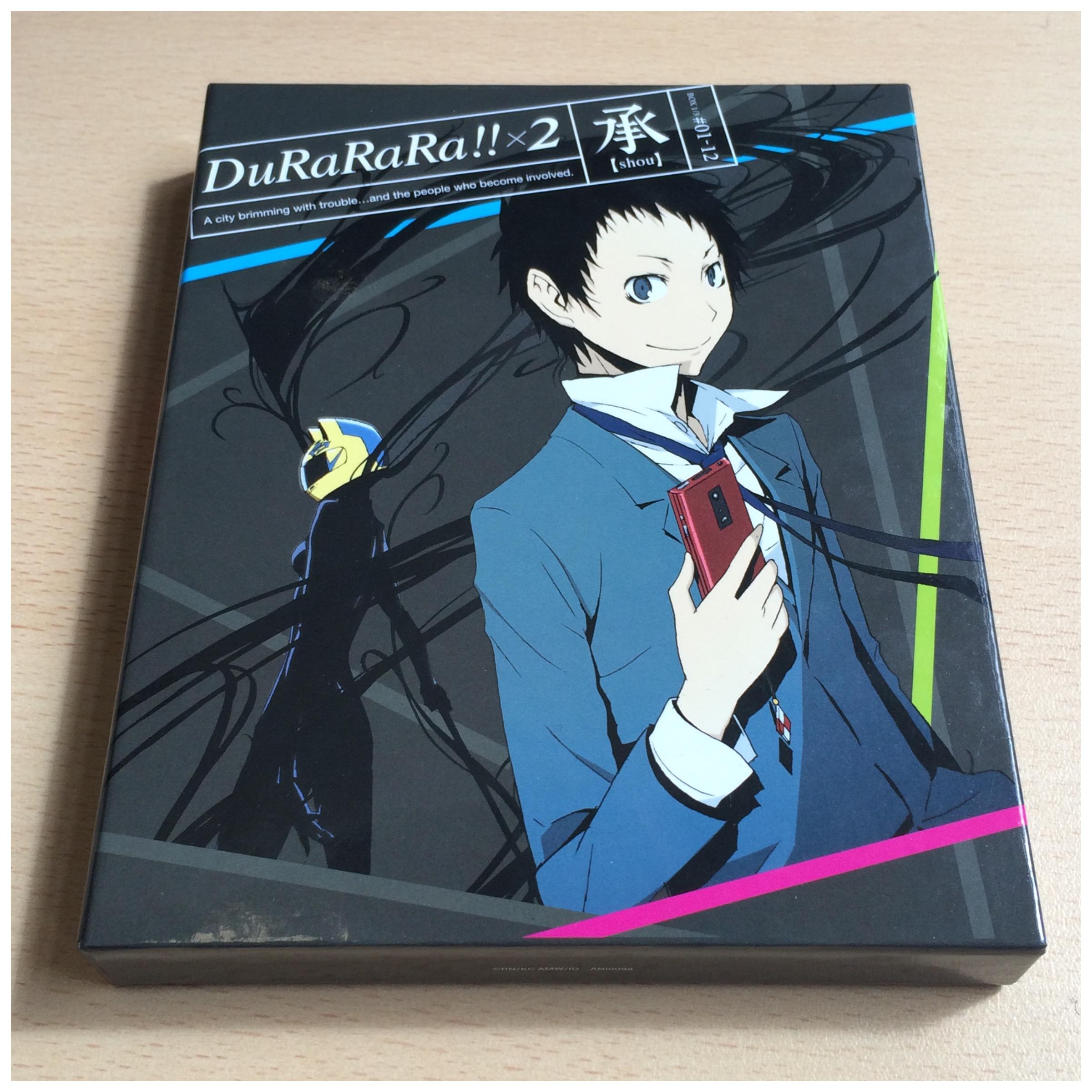 Durarara!! Complete Collection BLURAY Set