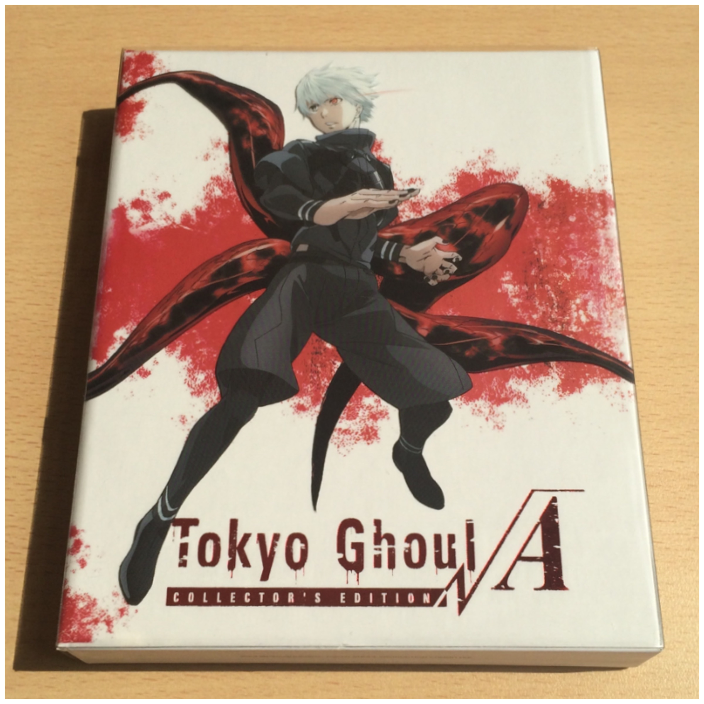 Unboxing] Tokyo Ghoul √A – All the Anime