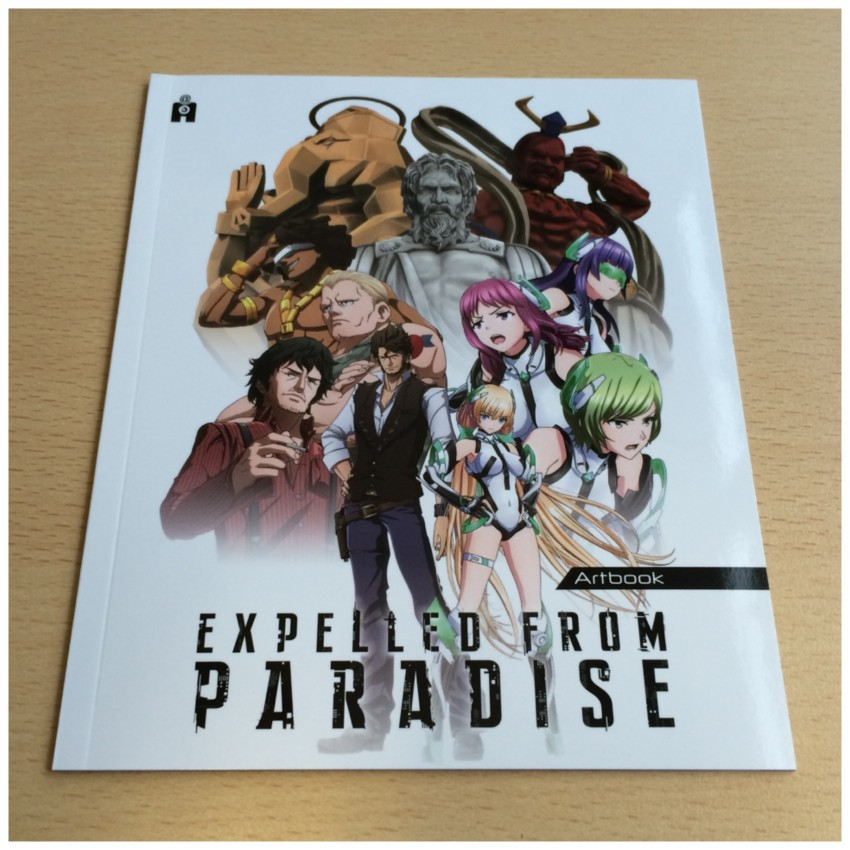 Now we move onto the 40-page art booklet