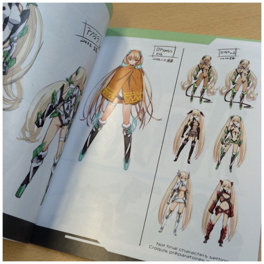 Another look at the character section