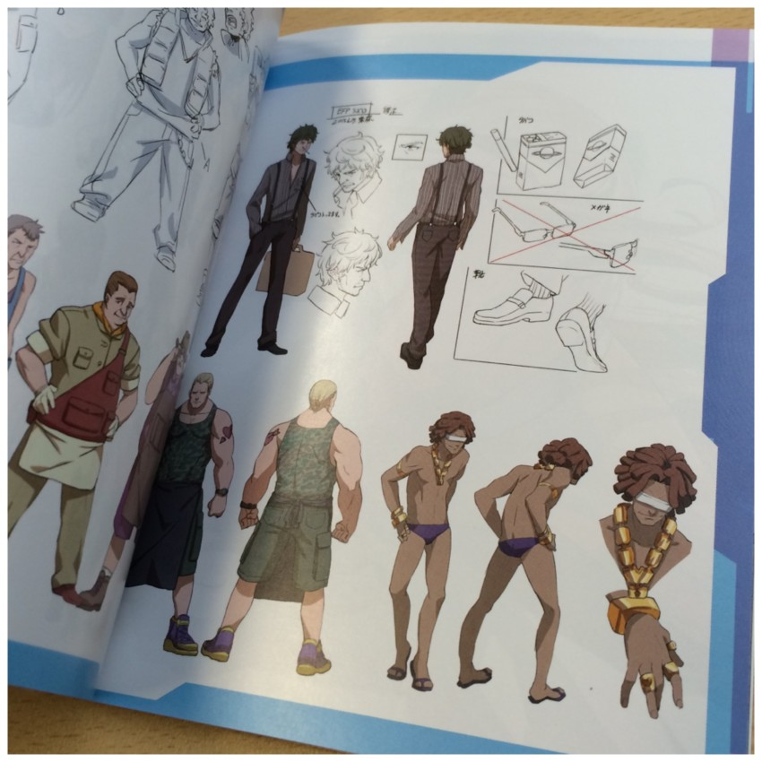 Another glimpse at the character concept section