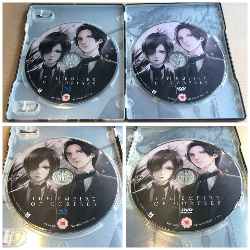 And now a closer look at the discs