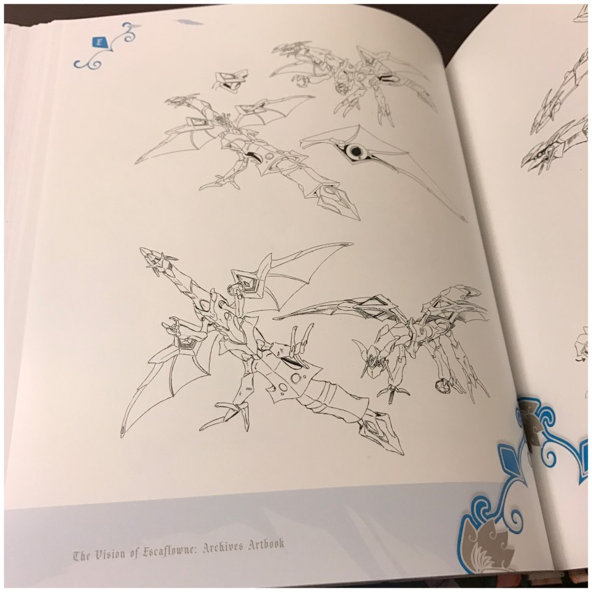 And another quick preview at the Mecha & Creatures section of the book