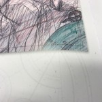 Here's a snap of the corner of one of the artworks we show off (it's the same one as on the cover of the book...)