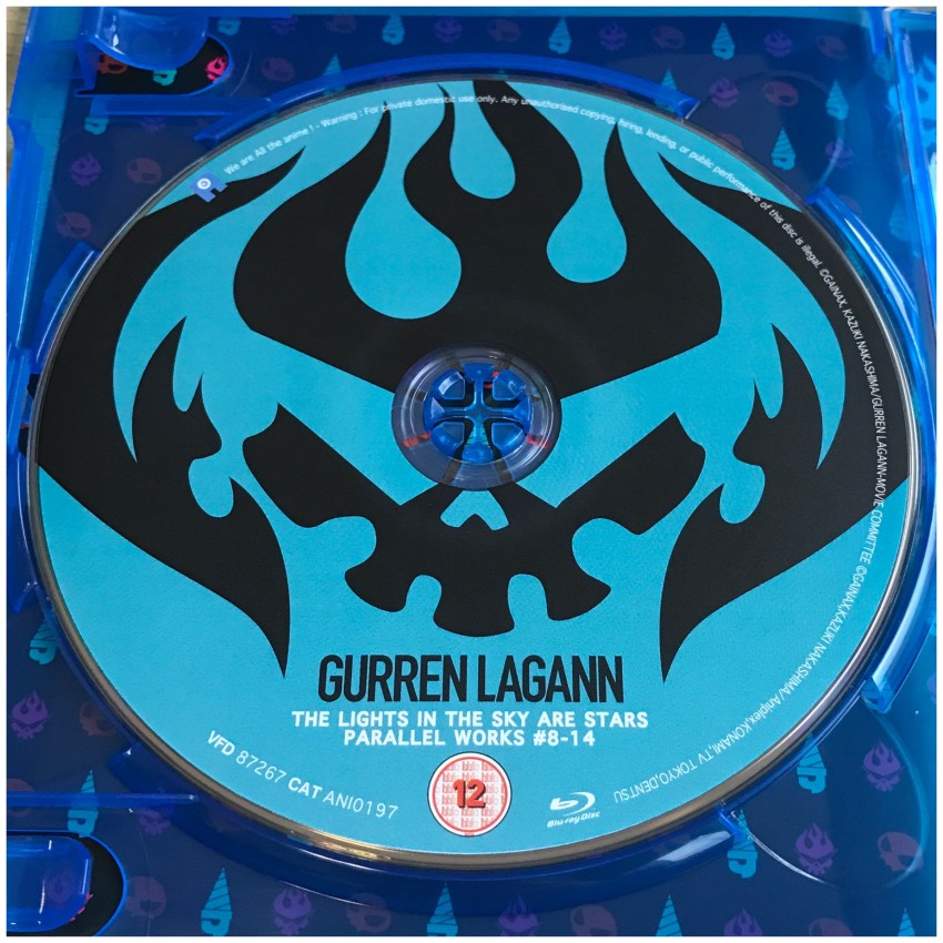 A look at the second movie disc