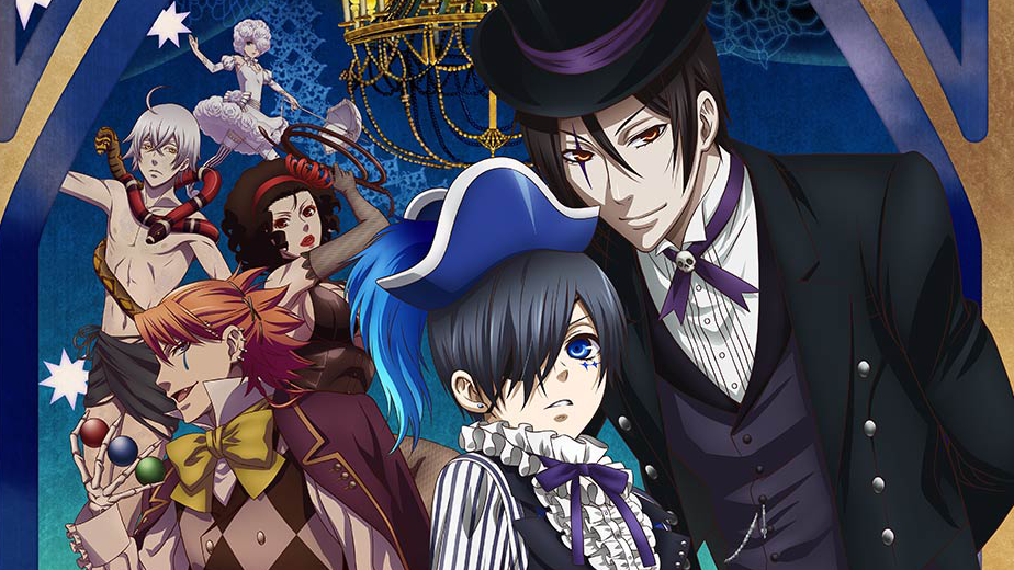 Black Butler Book Of Circus Opening Full