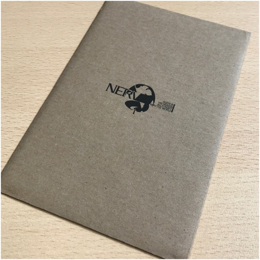 What's in this NERV branded envelope?