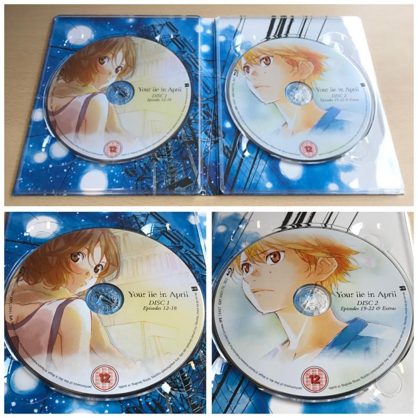 A closer look at the discs