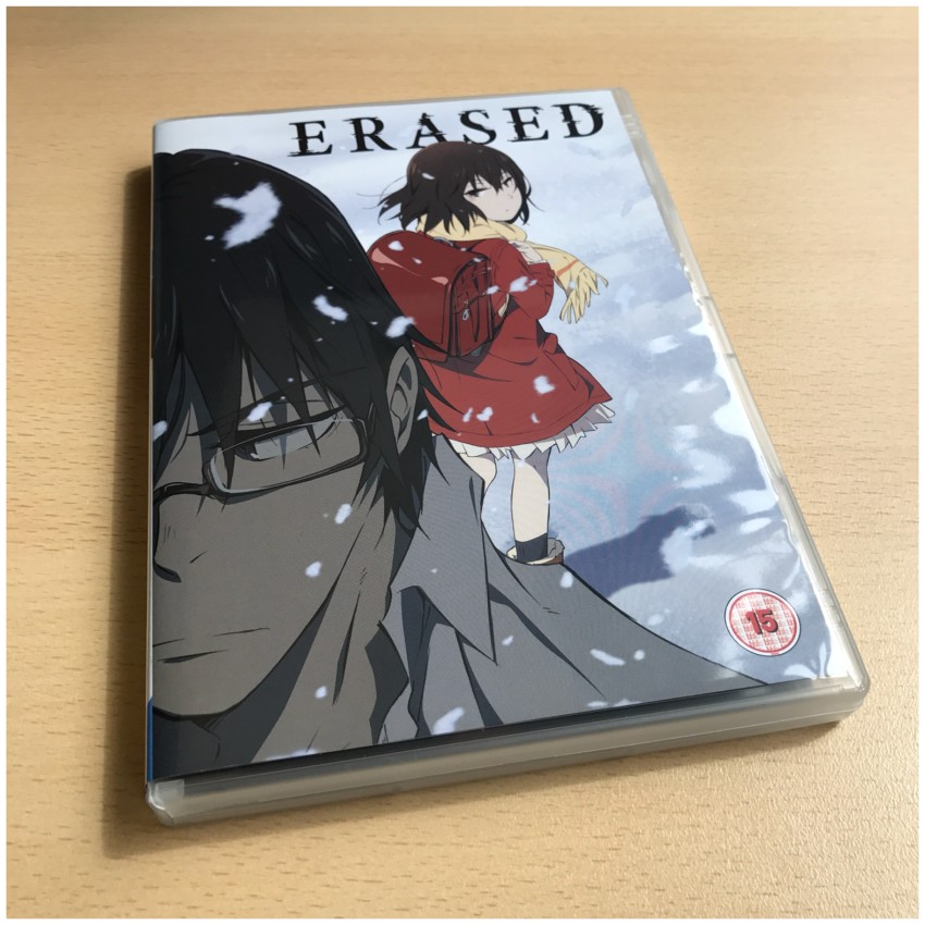 The DVD box