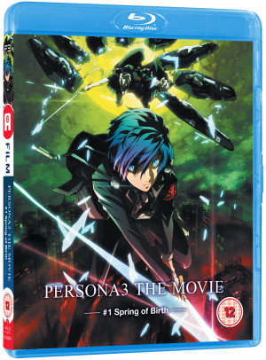 Persona 3: Movie #1 Spring of Birth standard Blu-ray (comes with Ltd Ed. Box to store all four films while stock lasts)