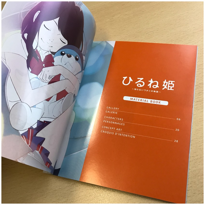 The contents of the booklet