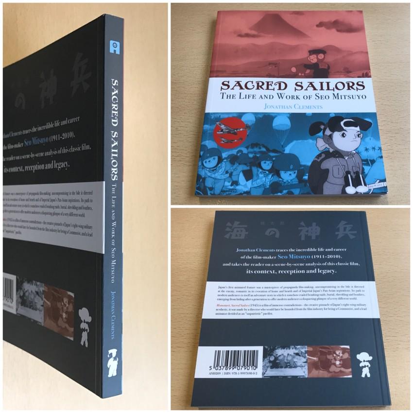 "The book ""Sacred Sailors: The Life and Work of Seo Mitsuyo"""