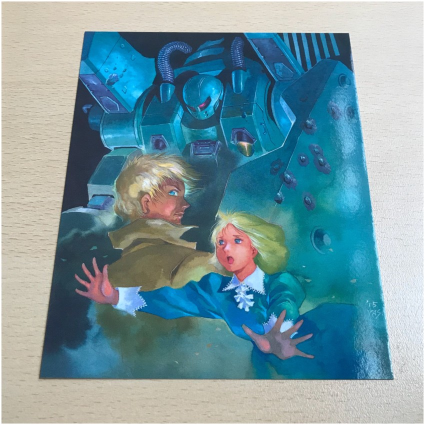 Art Card 2, featuring an image designed for Gundam Origin II