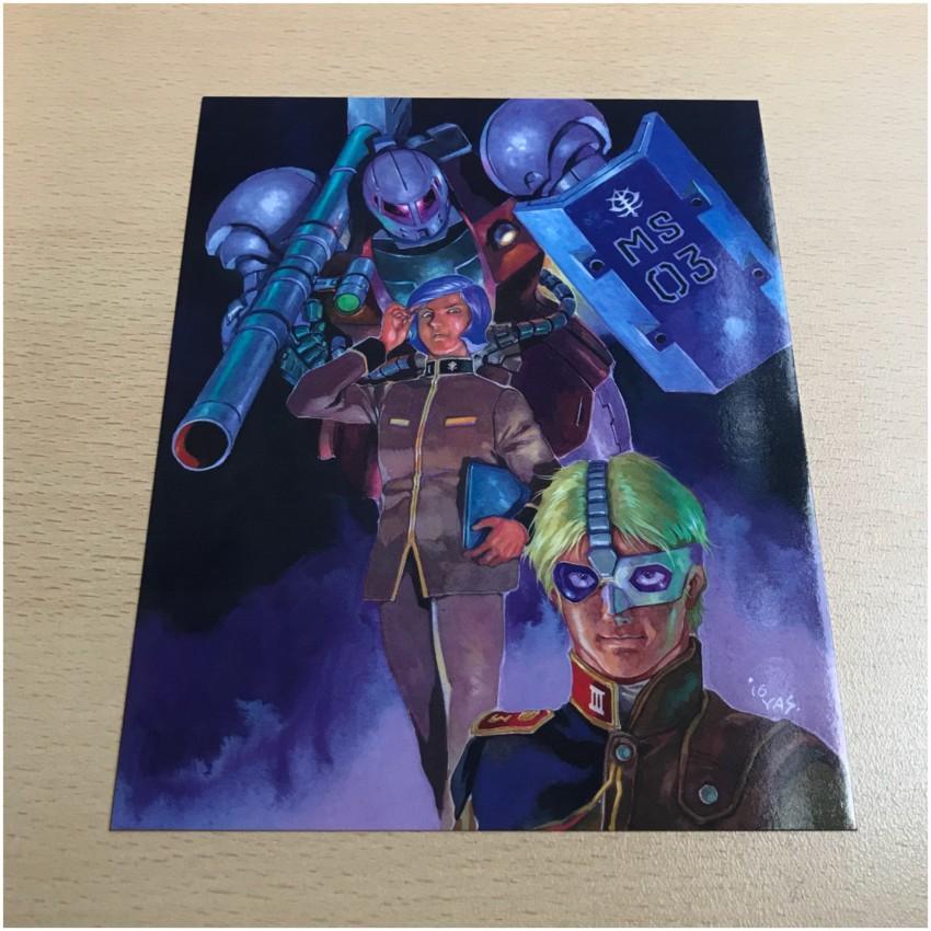 Art Card 3, featuring an image designed for Gundam Origin III
