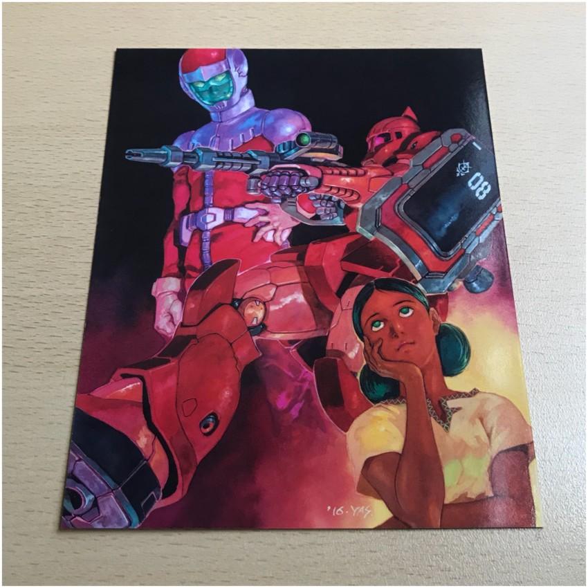 and Art Card 4, featuring an image designed for Gundam Origin I V
