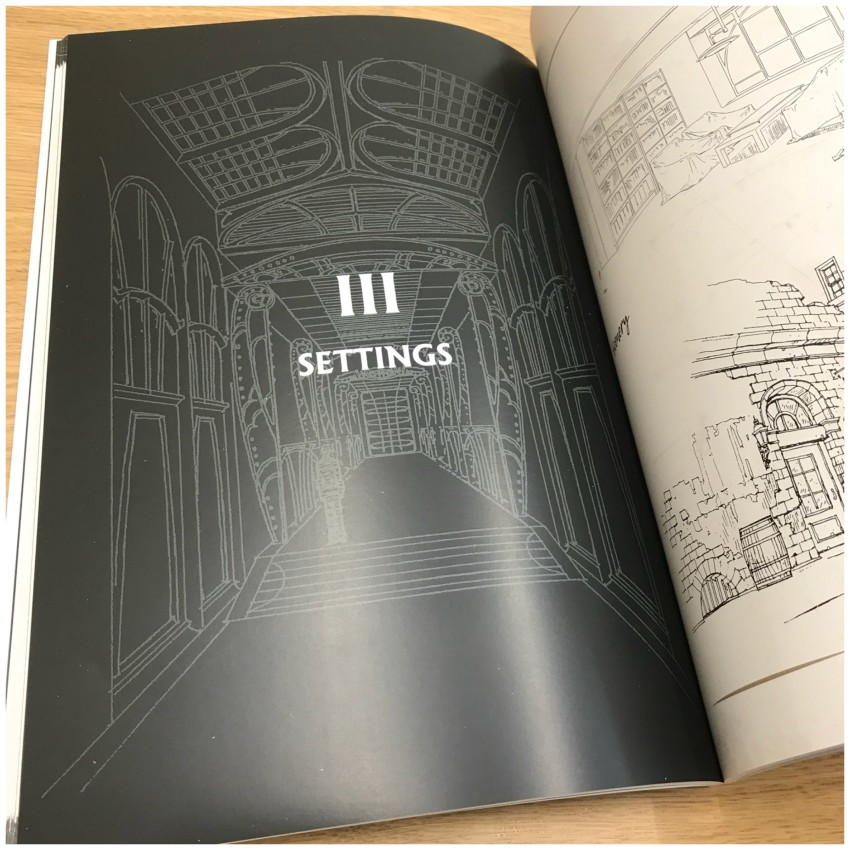 Onto section 3: settings. Take a look at a few pages from this section - some of the detail you'll see is incredible