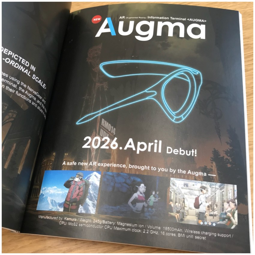 Then we start moving onto the Ordinal Scale related information starting off with information about Augma
