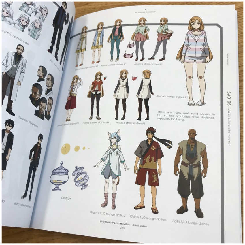 Here's another glimpse of some of the character art