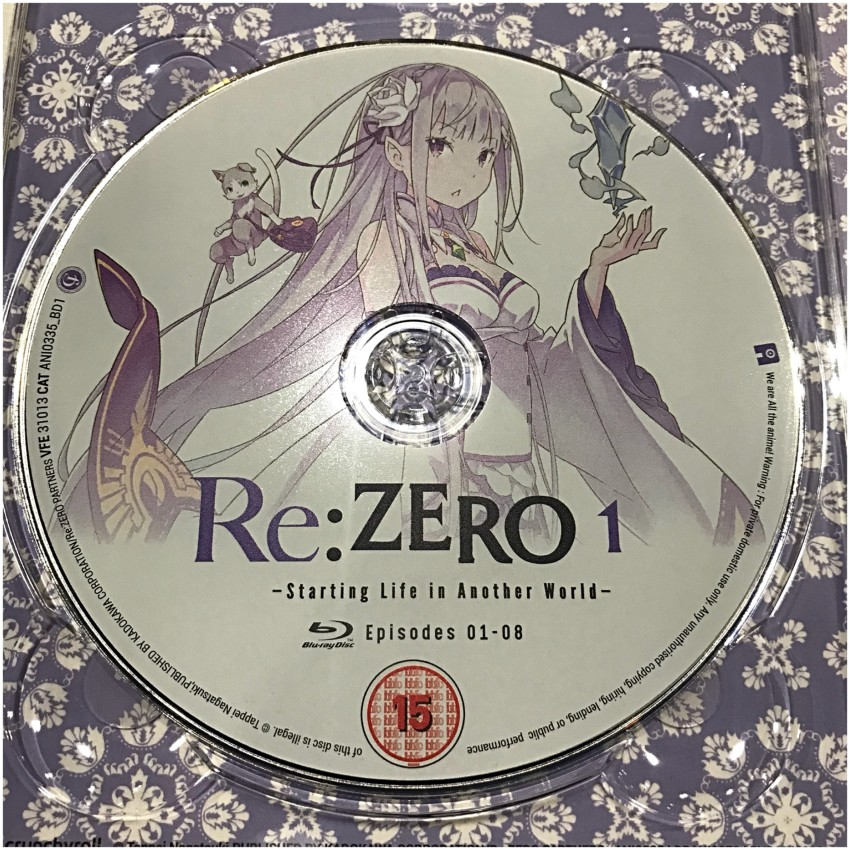Here's a closer look at disc 1