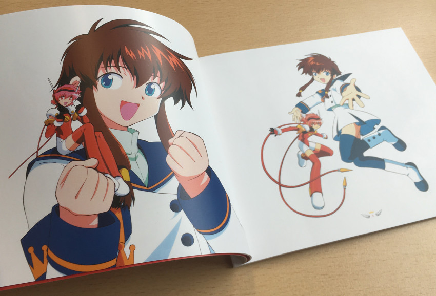 Here's just one example of the kind of great artwork you'll find inside. Hi again, Misaki!