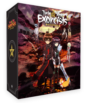 Twin Star Exorcist: Part 1 Blu-ray - Limited Edition Art Box
