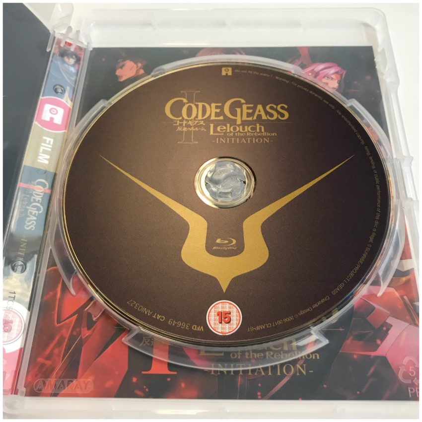 Here's the what the disc looks like.
