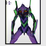 Evangelion Test Type Unit-01 ©khara