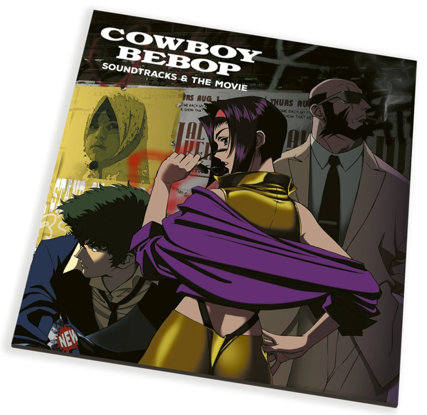 """Vinyl gatefold that will store the 3 soundtrack CDs, plus """"The Movie"""" Blu-ray disc"""