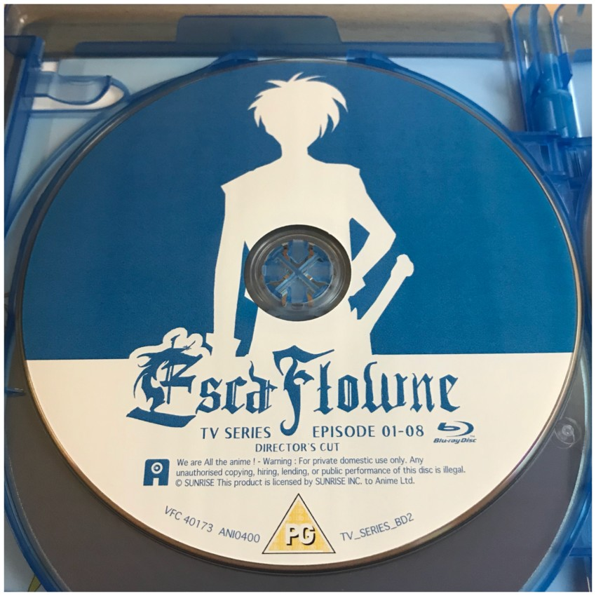 BD Disc 2 - this disc has the Director's Cut version of episodes 1-7