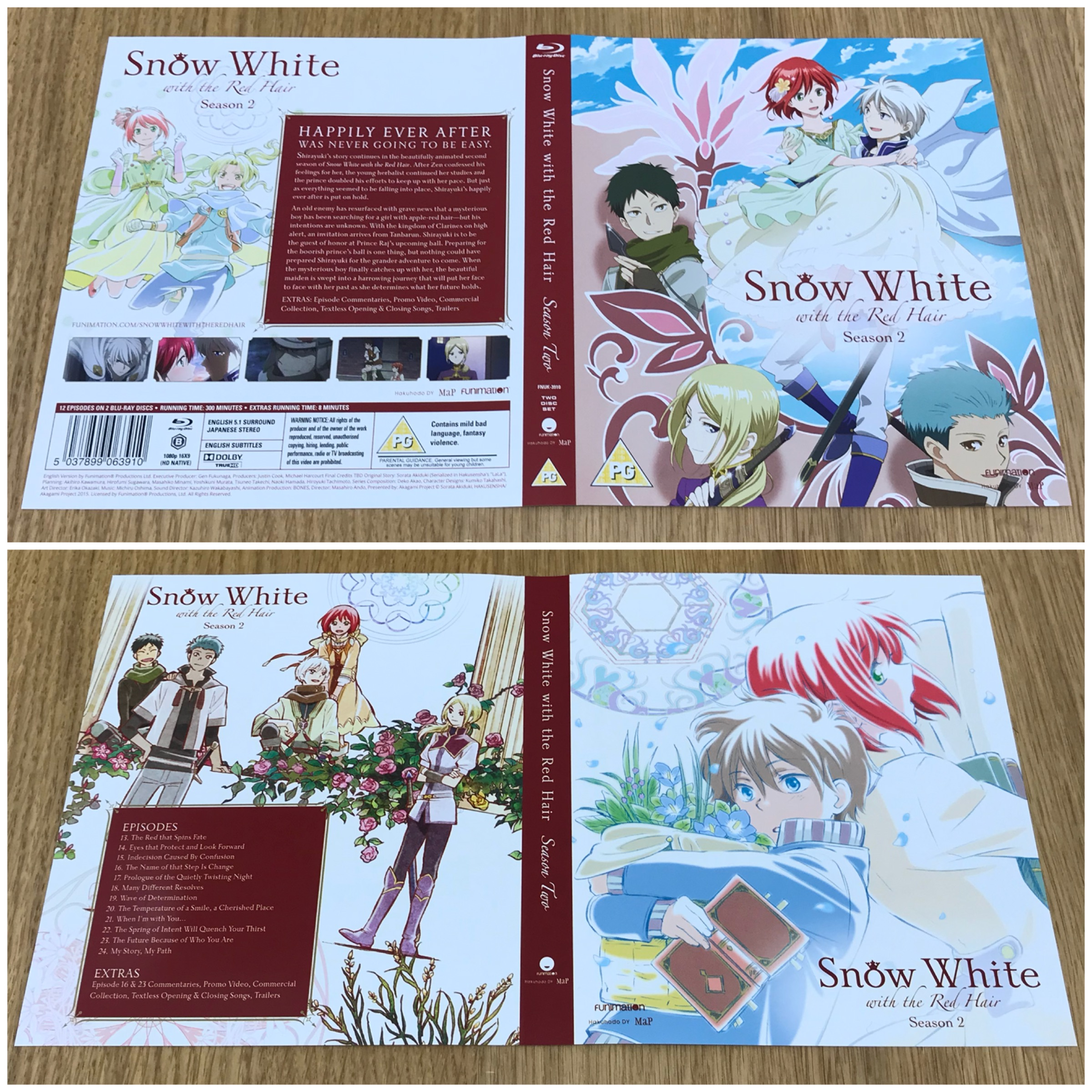 Unboxing Snow White With The Red Hair Season 1 2