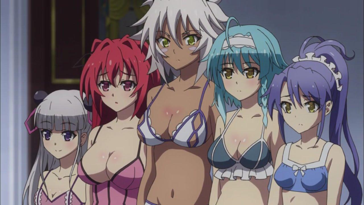 Testament of Sister New Devil BURST - All the Anime
