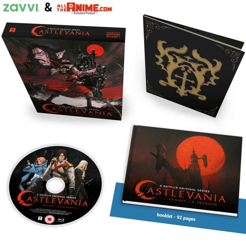 Castlevania: Season 1 Blu-ray Ltd Collector's Edition