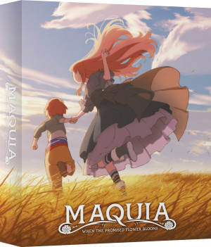 The rigid case of the Maquia Limited Collector's Edition set