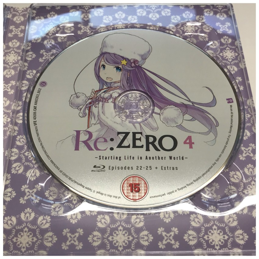 And the second disc in the set. This being the fourth disc in the series which is why it's labeled with '4'