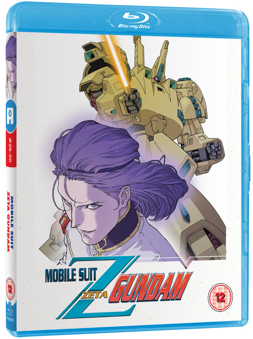 Zeta Gundam Part 2 standard Blu-ray coming late August/early September 2019