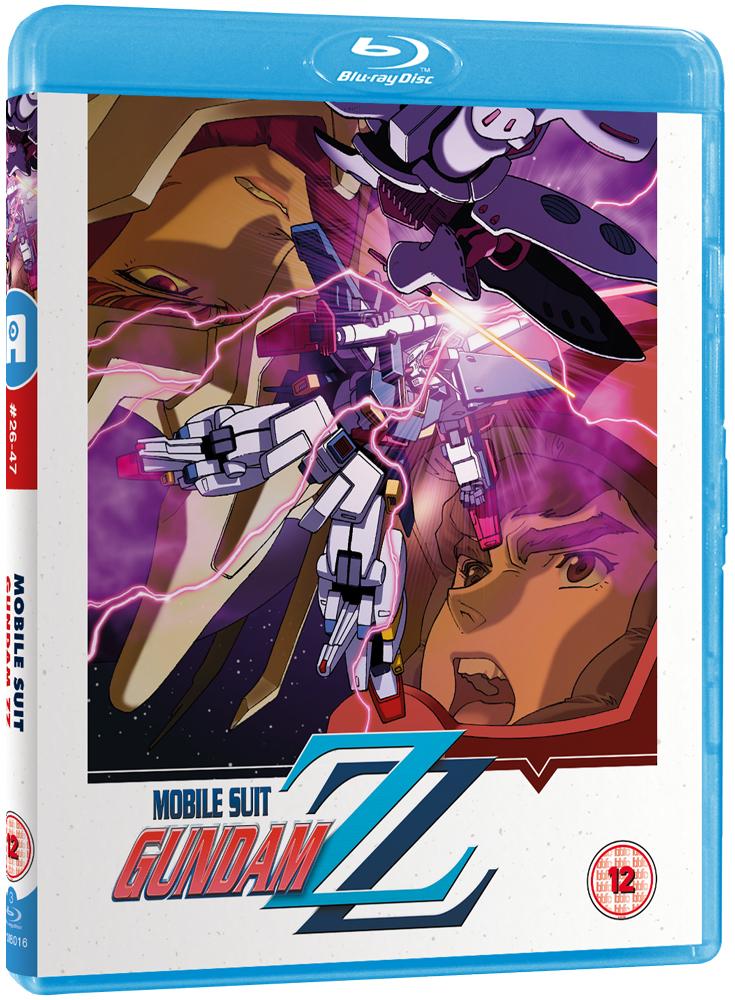 Gundam ZZ Part 2 Blu-ray coming October 2019