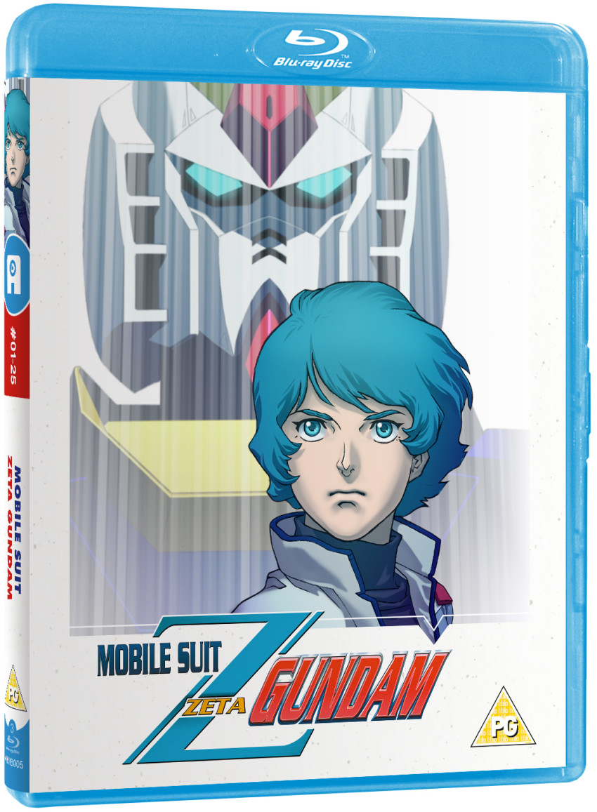 Zeta Gundam Part 1 standard Blu-ray coming 29th July 2019
