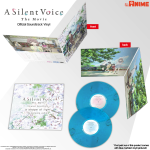 A Silent Voice Soundtrack Vinyl (first print Marbled Vinyl) - Coming 9th December 2019